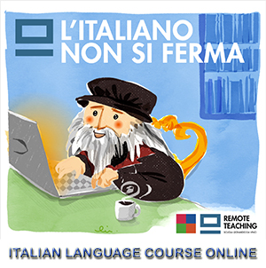 Discover our Italian language courses ONLINE!