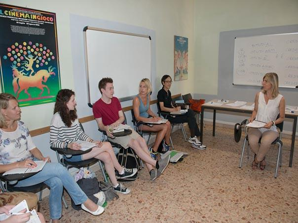 intensive italian course in florence