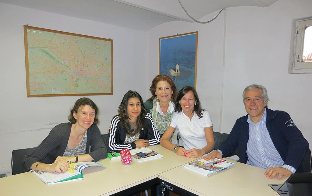intensive italian courses in small groups in florence