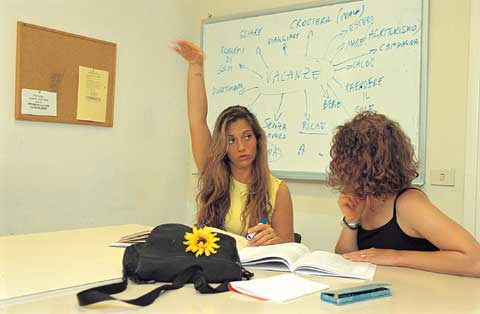 italian language private courses in florence